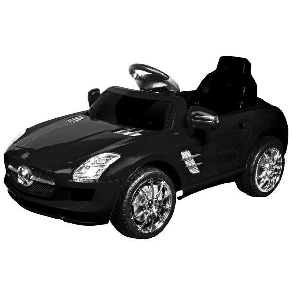 寶貝樂賓士附遙控兒童電動車-貴族黑(BTRT7997AN)