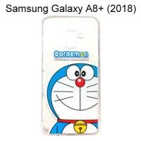 小叮噹週邊商品推薦哆啦A夢空壓氣墊軟殼 [大臉] Samsung Galaxy A8+ (2018) 6吋 小叮噹【正版授權】