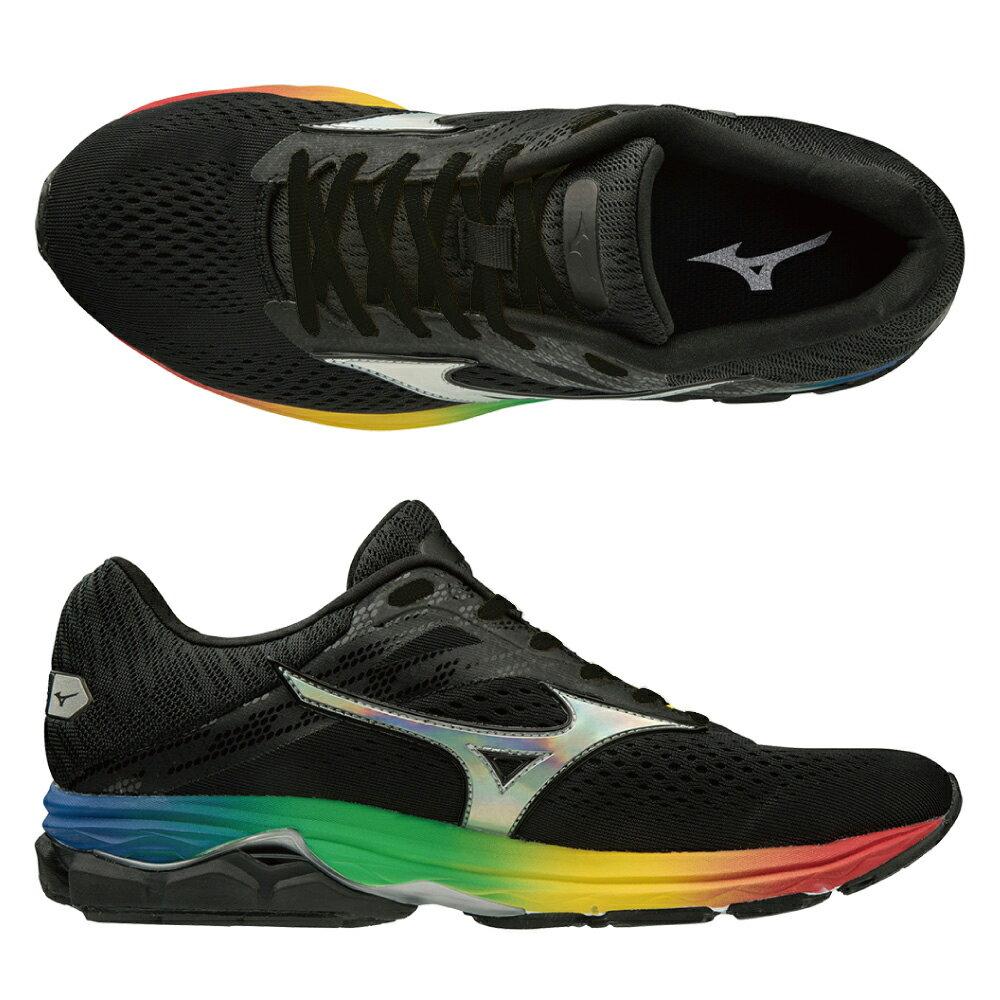 2019大阪馬拉松紀念款 WAVE RIDER 23 OSAKA 一般型女款慢跑鞋 J1GD190373【美津濃MIZUNO】 1
