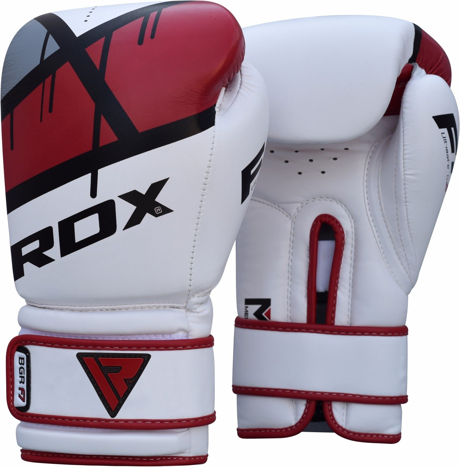 B2fitness Rdx Ego Boxing Gloves Red 10 16 Oz Mma Kickboxing Muay