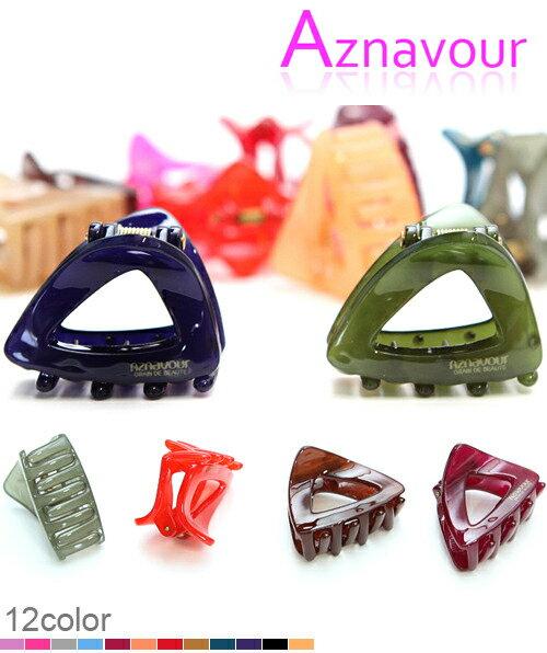 BHJ143-法國品牌Grain de Beaute 可愛果涷色三角造型小鯊魚夾 抓夾【韓國製】Aznavour