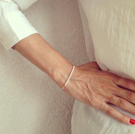 BIRDYEDGE珍珠手環短練手圈飾品單品手環禮物免運優惠
