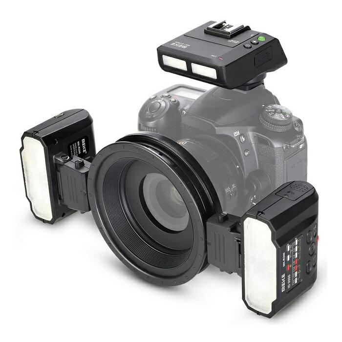 ◎相機專家◎ Meike 美科 MK-MT24 Nikon 微距攝影閃光燈 雙燈 環型閃光燈 近拍 R1C1 公司貨