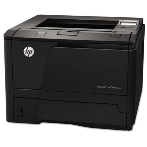 HP LaserJet Pro 400 M401DNE Laser Printer - Monochrome - 1200 x 1200 dpi Print - Plain Paper Print - Desktop - 35 ppm Mono Print - Automatic Duplex Print - Ethernet - USB 1
