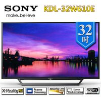 SONY 索尼推薦到【12期0利率!!!】SONY 索尼 KDL-32W610E 32吋 FHD液晶電視【不附帶安裝】