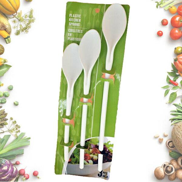 塑料沙拉勺 / 冰淇淋勺 / 水果頭三件套