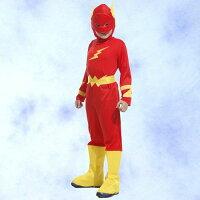 蝙蝠俠與超人周邊商品推薦GTH-1277閃電小超人化裝舞會表演造型派對服(S/M/L/XL)
