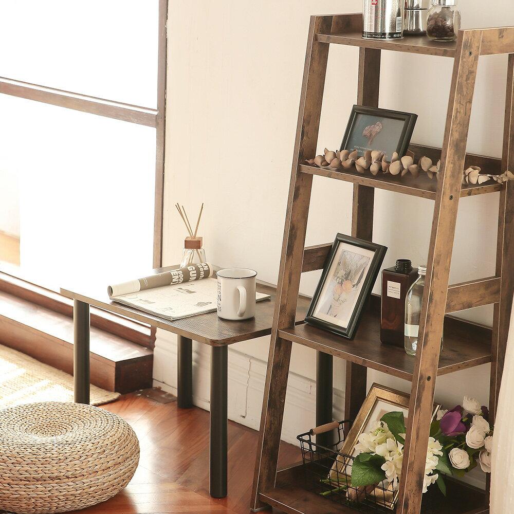 四層收納架 層架 書架 層櫃 A字收納-窄  /  寬款 日式木質收納層架 層架斜面架 樂嫚妮【CC-AJS1112】 5