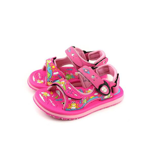 GP(Gold.Pigon)涼鞋防水雨天桃紅中童童鞋G8681B-45no928