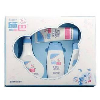施巴 Seba med PH5.5 粉藍熊語禮盒