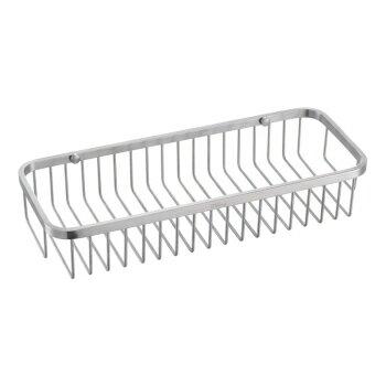 【帝鋼衛浴】304不鏽鋼長方形置物籃 TBA-1003 5