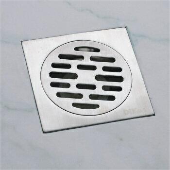 【帝鋼衛浴】304不鏽鋼地漏 TBA-1303 4