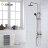 【帝鋼衛浴】304不鏽鋼單把大淋浴ABS手持花灑 TSH-0114 0