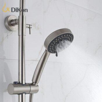 【帝鋼衛浴】304不鏽鋼單把大淋浴ABS手持花灑 TSH-0114 4