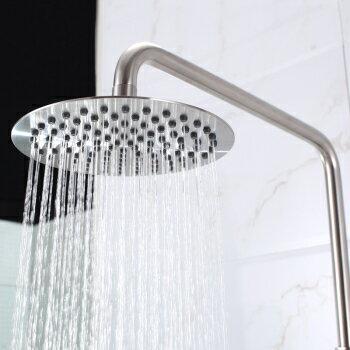 【帝鋼衛浴】304不鏽鋼單把大淋浴花灑(經濟套裝)TSH-0113 1