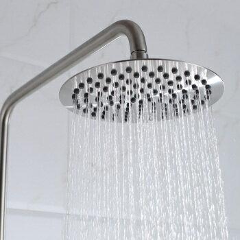 【帝鋼衛浴】304不鏽鋼單把大淋浴花灑(經濟套裝)TSH-0113 4