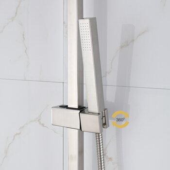 【帝鋼衛浴】304不鏽鋼兩功能淋浴花灑 TSH-0110 3