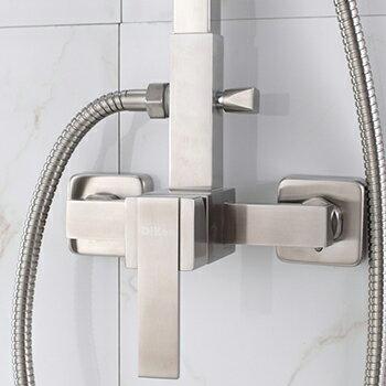 【帝鋼衛浴】304不鏽鋼兩功能淋浴花灑 TSH-0110 4
