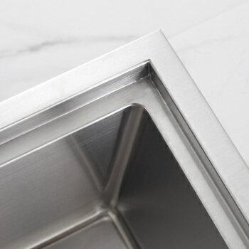 【帝鋼衛浴】304不鏽鋼廚房手工水槽 TSK-0143 3