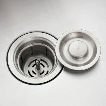 【帝鋼衛浴】304不鏽鋼廚房手工水槽 TSK-0143 4