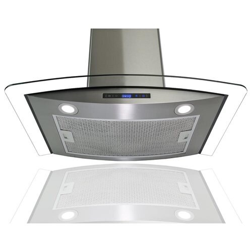 "AKDY 36"" AK-688-CS14-90 Europe Style Stainless Steel Wall Range Hood 3"