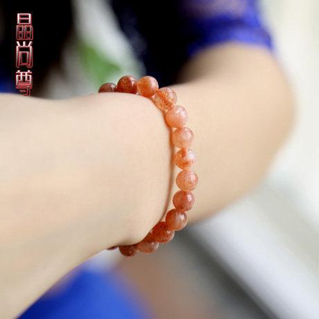 草莓晶手鏈 草莓石 薔薇晶手鏈 精美飾品
