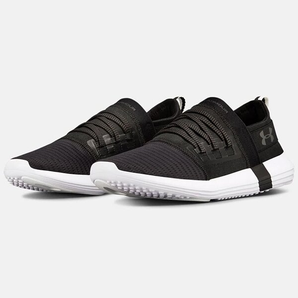 《下殺69折》Shoestw  【3020340-003】UNDER ARMOUR UA Vibe 運動休閒鞋 運動鞋 黑白 男生 0
