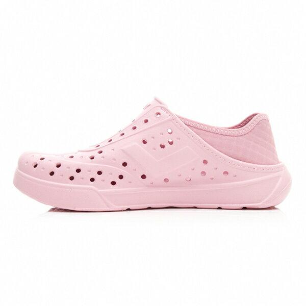 《2019新款》Shoestw【92U1SA03PK】PONY Enjoy 洞洞鞋 水鞋 海灘鞋 可踩跟 懶人拖 菱格紋 全粉紅 白V 男女尺寸都有 2