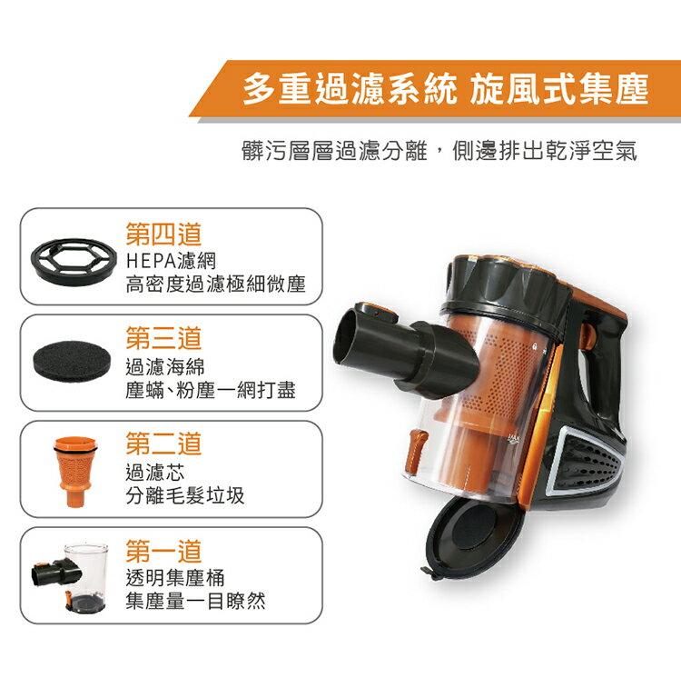 【Kolin歌林有線強力吸塵器】吸塵器 無線吸塵器  車用吸塵器 強力吸塵器 手持吸塵器 直立式吸塵器【AB210】 2
