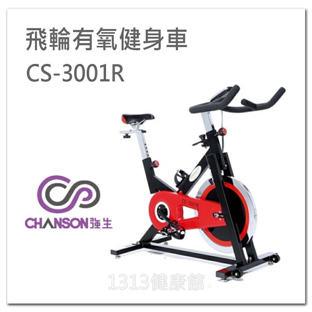 【1313健康館】Chanson強生牌 CS-3001R 飛輪有氧健身車