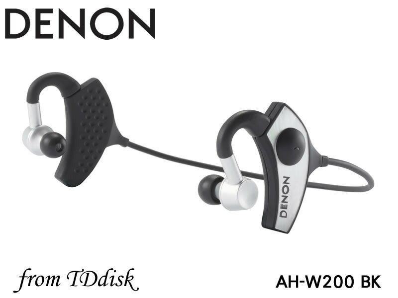 志達電子 AH-W200 DENON AH W200 內建耳機擴大機 無線立體聲藍芽/藍牙耳掛式耳機 [公司貨] For Apple Android 門市開放試聽
