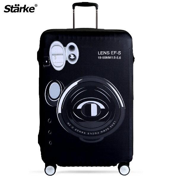 E&J【010001-07】Starke 高彈性行李箱套 - 旅遊相機;適用26-29吋/防塵套/防刮/行李箱保護套