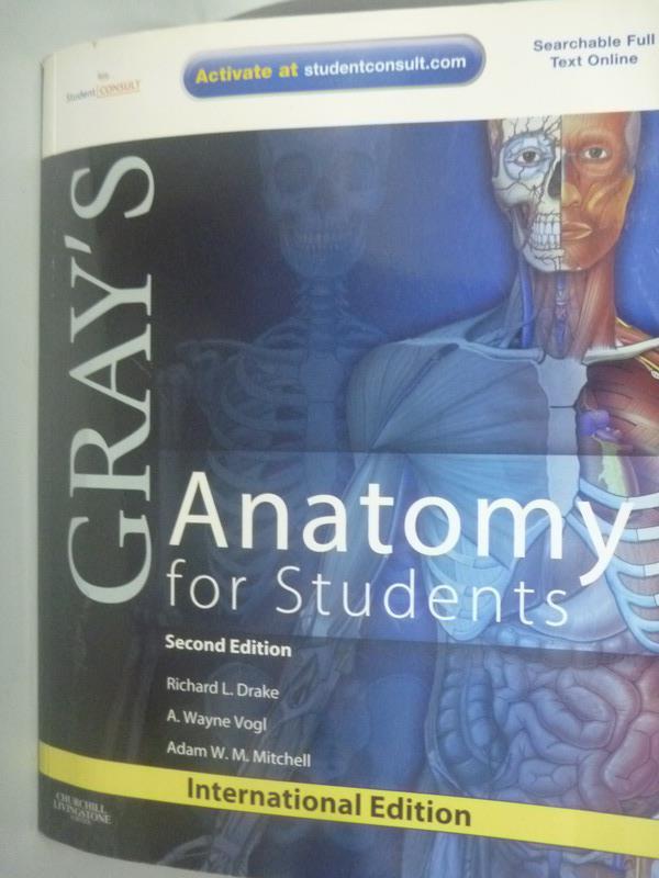【書寶二手書T1/大學理工醫_ZHT】Gray??s Anatomy for Students