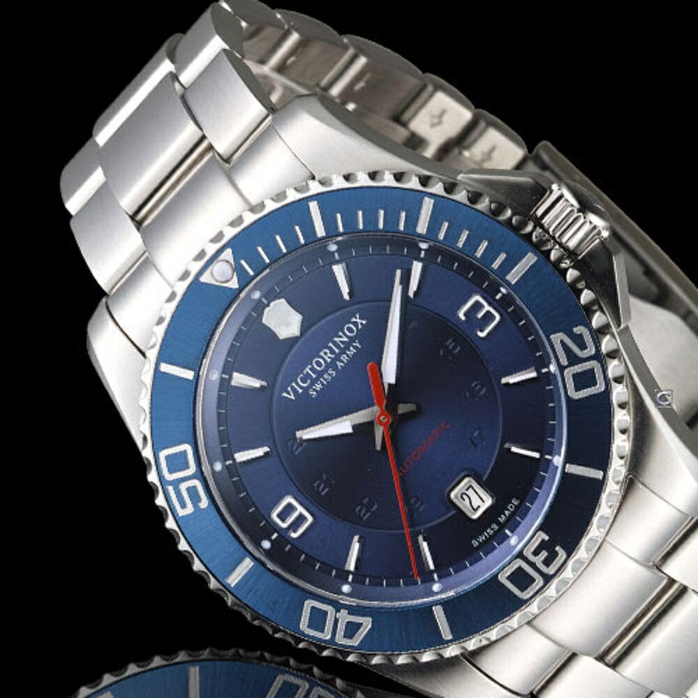VICTORINOX 瑞士 維氏錶 野戰部隊大三針腕錶 VISA-241706