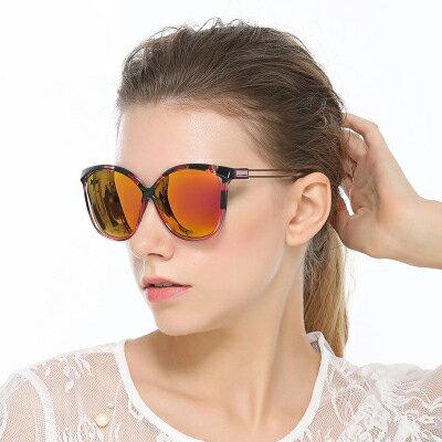 墨鏡異材質拼接撞色時尚潮大框太陽眼鏡【KS5002】BOBI0315