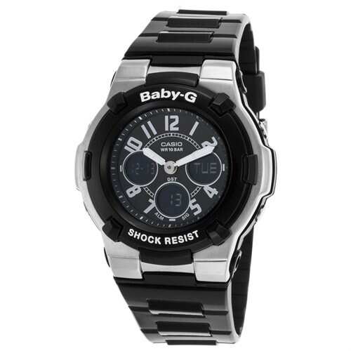 Casio Baby-G Ladies Watch BGA110-1B2C 0