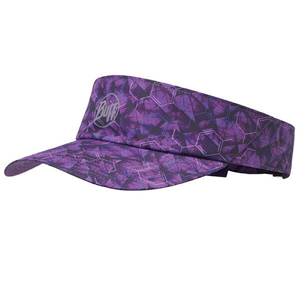 ├登山樂┤西班牙BUFF頂空帽-炫紫幾合#BF117256
