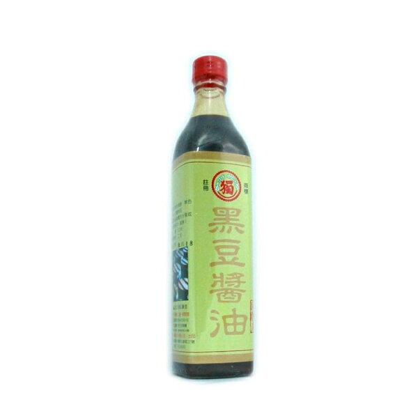 獨一社-黑豆醬油520cc