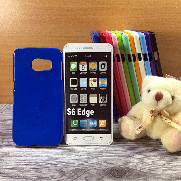 大都會保護殼 Samsung Galaxy S6 Edge G9250 保護殼 TPU 軟殼 閃粉 矽膠殼 手機殼 背蓋