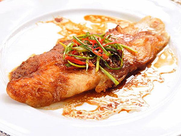 ㊣盅龐水產 ~ 鯰魚片^(巴沙魚片^) ~貓魚排 3~4片  kg 約250g  片 零售