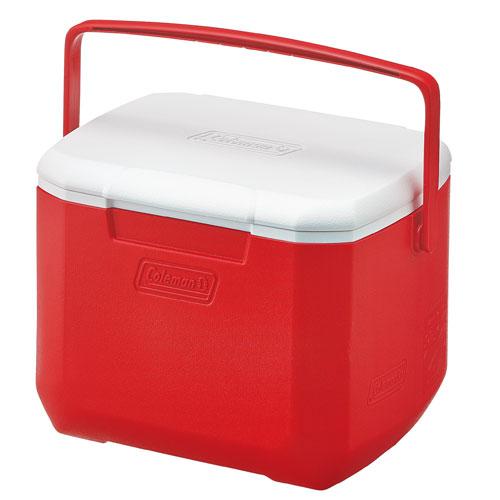 【露營趣】中和安坑 Coleman CM-27860 15L Excursion 美利紅冰箱 手提冰桶 露營冰桶 行動冰箱 野餐籃