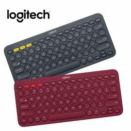 羅技 Logitech K380跨平台藍牙鍵盤 - 灰黑/紅/藍 三色款