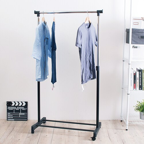【探索生活 免運費】單桿粗管徑伸縮曬衣架(管徑32mm) 收納架 置物架 吊衣架