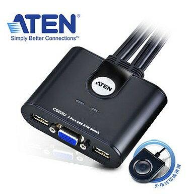 【迪特軍3C】ATEN 2埠 USB KVM 多電腦切換器 (按鍵切換,non-HotKey) 二台電腦共用1組鍵鼠 2048x1536