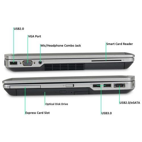 Dell Latitude E6430 Core I5-2 6GHz, 8G RAM, 256GB SSD, DVDRW, 14