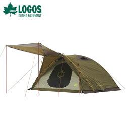 【露營趣】LOGOS LG71805524 Premium PANEL 艾爾斯五人帳 XL-AH 家庭帳 圓頂帳 客廳