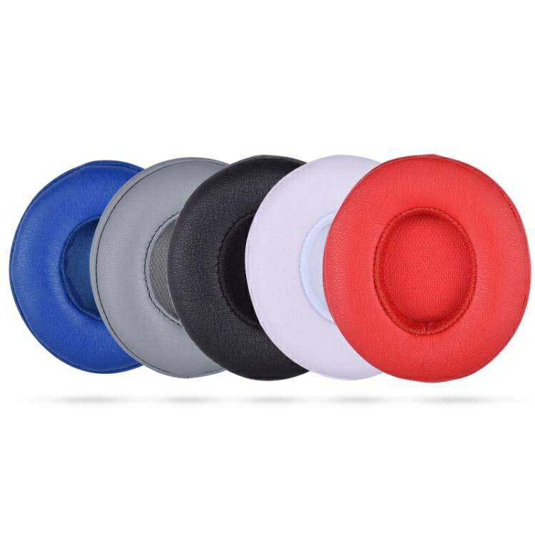 適用於Beats solo2耳罩solo3耳機套耳機海綿套Wireless耳套有線無線版  創時代 雙12購物節