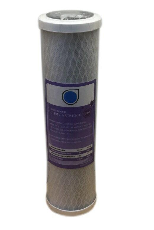 台製高效能壓縮柱狀活性碳濾心