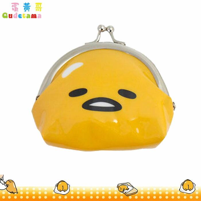 蛋黃哥 零錢包 珠珠扣零錢包 小物包 吊飾 珠扣   收納包 隨身錢包 日本進口正版 047393