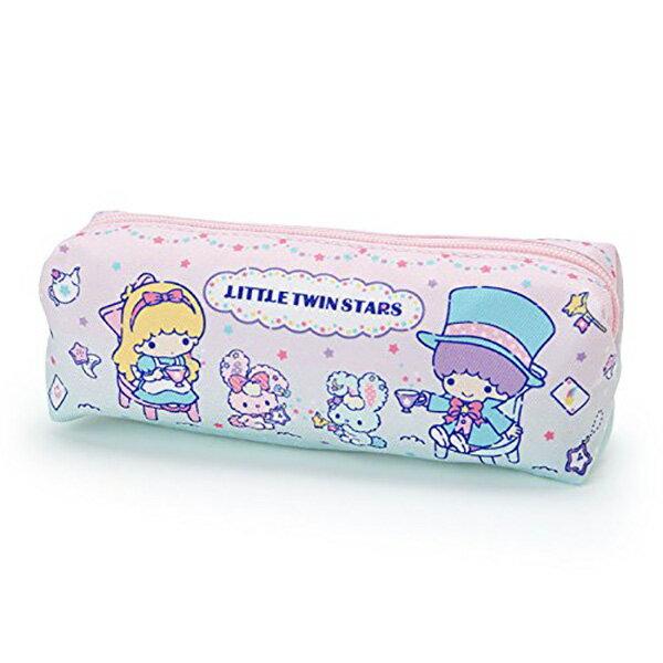 【雙子星單層筆袋】三麗鷗 雙子星 單層 筆袋 鉛筆盒 尼龍 夢幻色 KiKilala  該該貝比  ☆